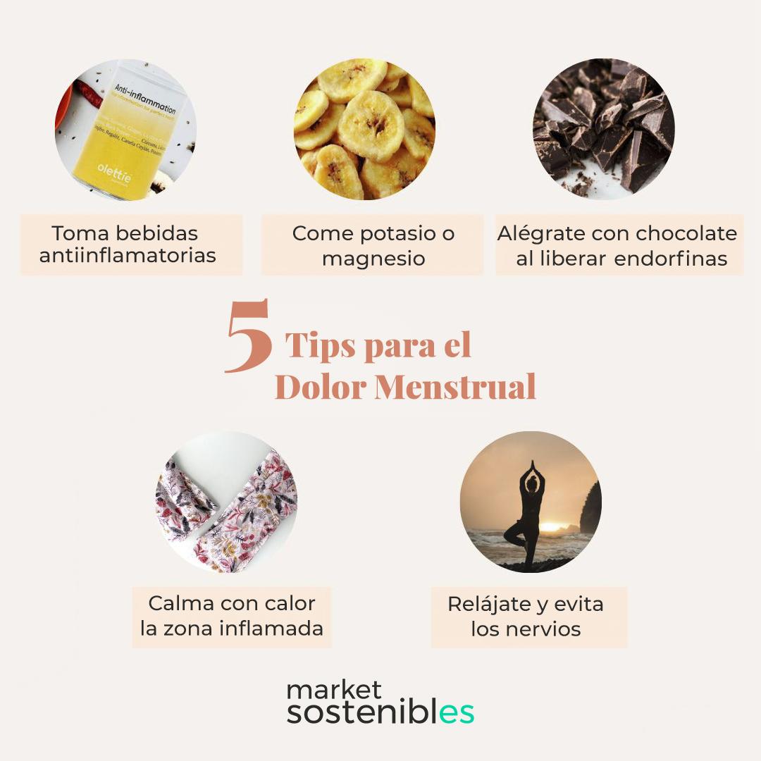 5 Tips naturales para el dolor menstrual